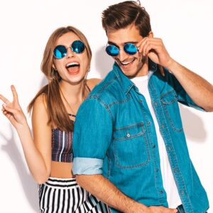Gafas de sol y lentes de moda